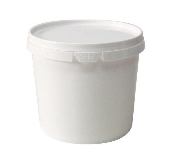 Plastic Round Tub 1.1L