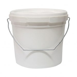Plastic Round Pail 5.2L