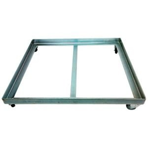 Buy Bread crate dolly chrome