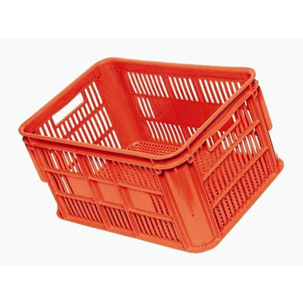 Orange Vented Crates NZ