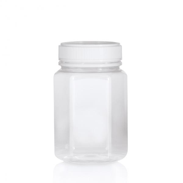 500gm PET jars Hex Clear