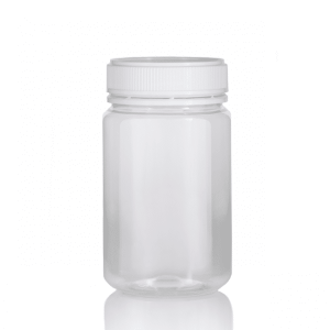 500gm PET jars Round Jar Clear