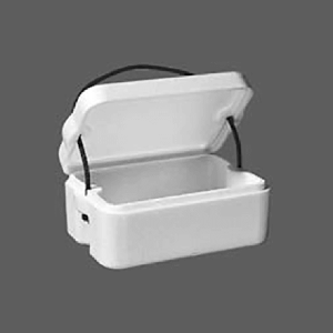 EPS polystyrene boxes and containers One Kilo Bin