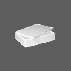 EPS polystyrene boxes and containers Shallow Mark Five