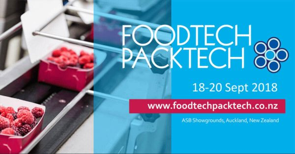 Join us at FoodTech PackTech 2018 at ASB Showgrounds 18-20 September