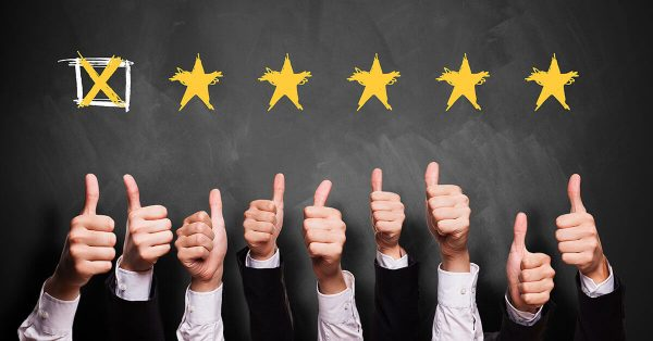 5 Star Business Rating Customer Review