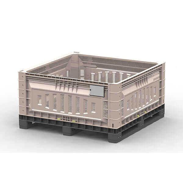 625L Solid Walled pallet bin