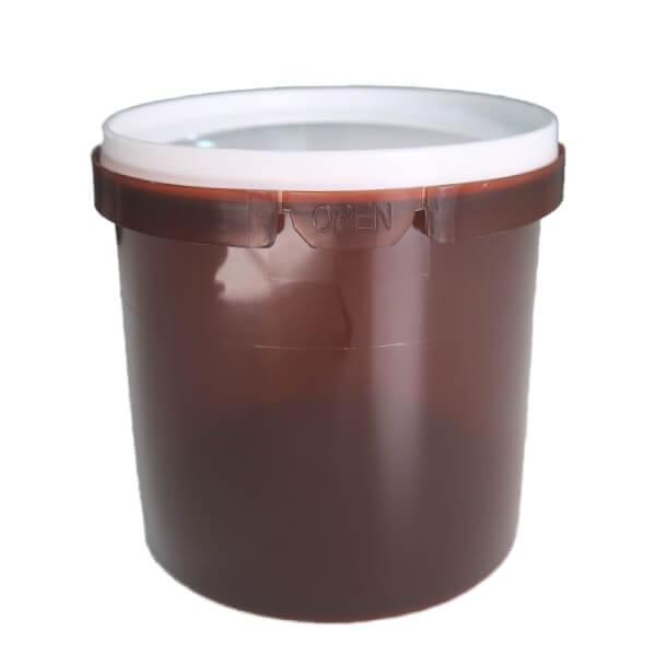 Tub 1.1 Litre Amber