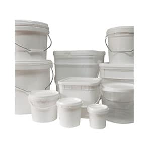 Plastic Pails Buckets and Tubs