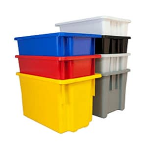 Plastic Stack and Nest Bins
