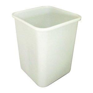 Bin Square 60 Litre White