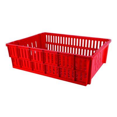 vented crate 36l red