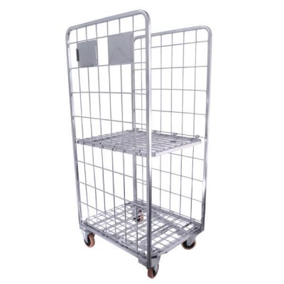 Cage-Trolley-2-Sided-with-Shelf-1