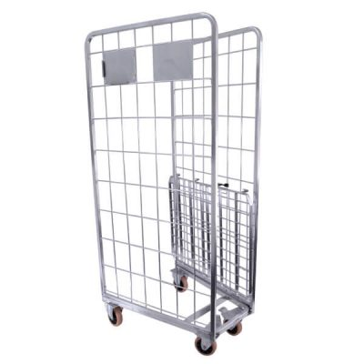 Cage-Trolley-2-Sided-with-Shelf-4