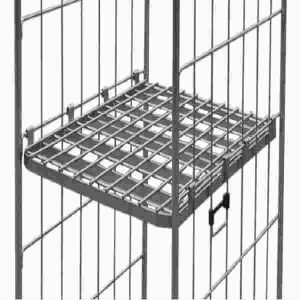 Shelf for Cage Trolley 2-Sided