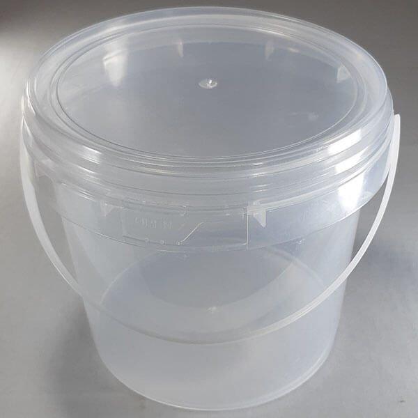 Plastic Pail Food Container 1.5 litres