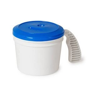 Collection container standard lid blue