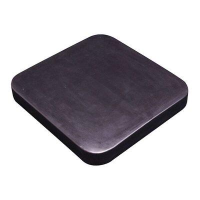 Square Bin 100 Litre Black