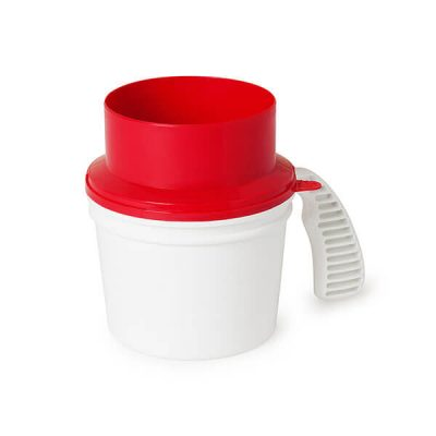 Collection Container Quick Drop Lid
