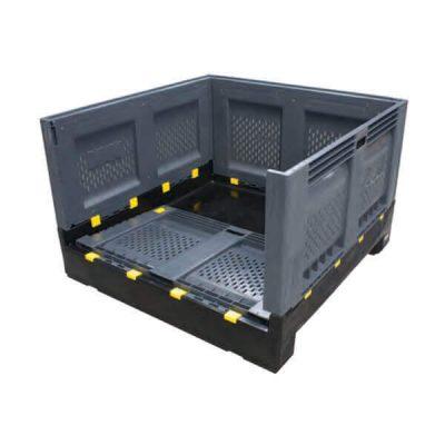 Foldable Pallet Bin Vented 780 Litres
