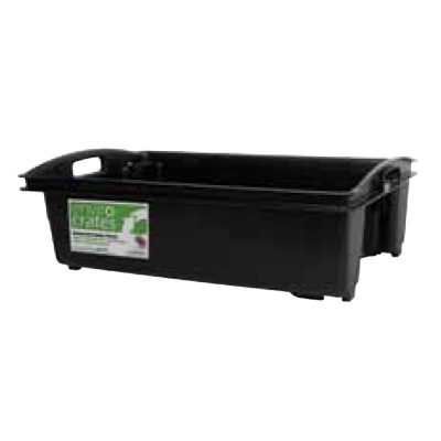 Fish Crate Stack and Nesting 35 Litre AP6 Black