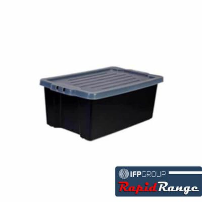 Crate 54 Litre Stack and Nest Fish Bin Rapid Range