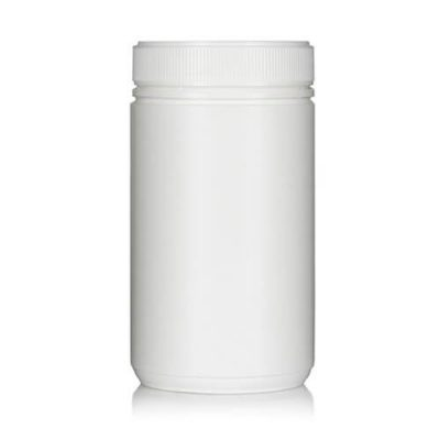 Powder Pot White Twin Start 1100ml T/E 100mm neck