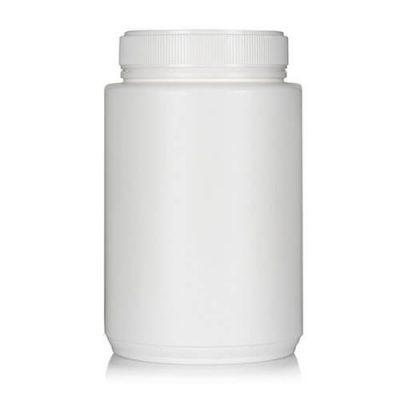 Powder Pot White Twin Start 2050ml T/E 100mm neck