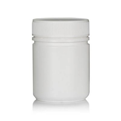 Powder Pot 275ml White T/E 63mm neck