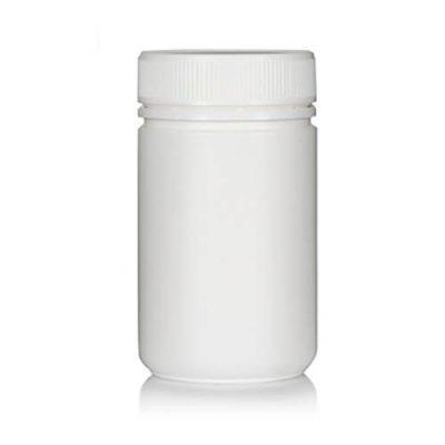 Powder Pot 400ml White T/E 63mm neck