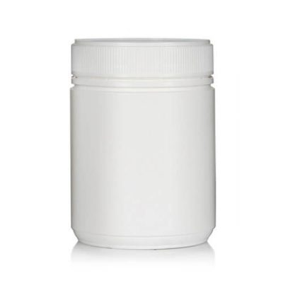 Powder Pot Twin Start 500ml T/E White 83mm neck