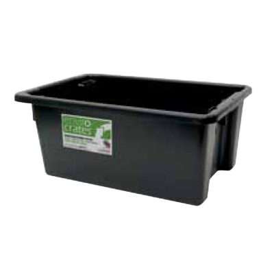 Enviro Storage Crate 52 Litres Flat Bottom AP10FBR