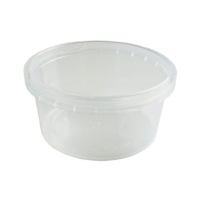 Tub Round 270ml Tamper Evident Clear