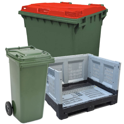 Bulk, Waste and Recycling Bins