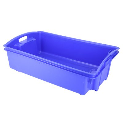 Fish Crate Stack and Nesting 35 Litre AP6 Blue