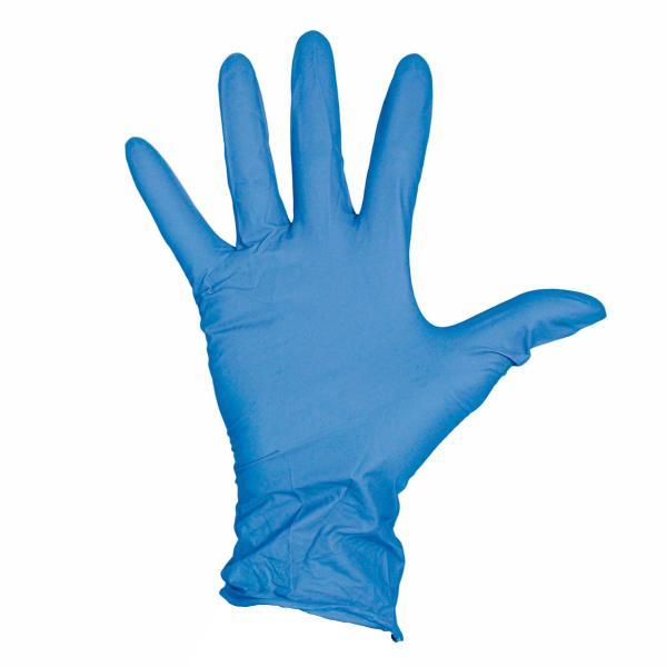 vinyl-glove-blue