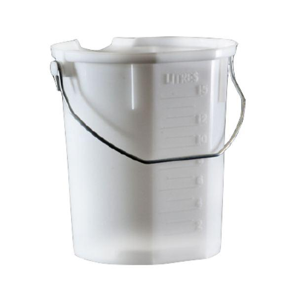 Bucket with Pourer 15 Litre Graduated