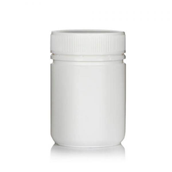 Powder Pot 300ml White T/E 63mm neck