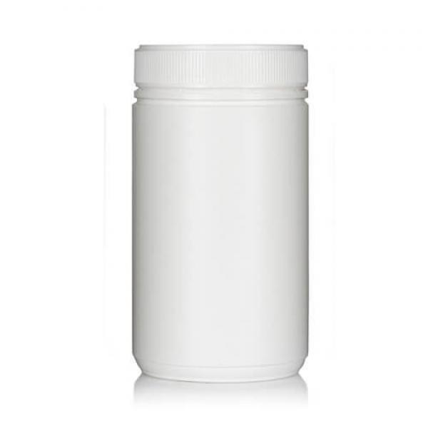 Powder Pot White Twin Start 750ml T/E 83mm neck
