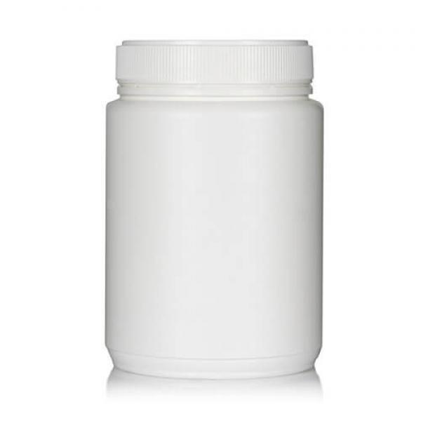Powder Pot White Twin Start 1500ml T/E 100mm neck