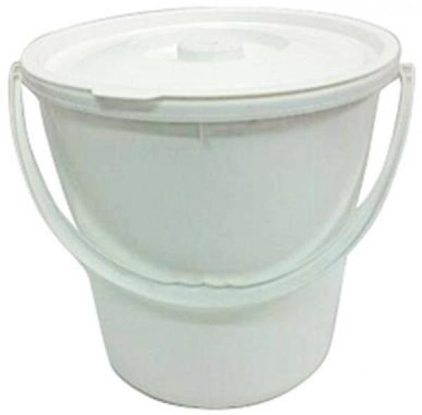 Bucket with Plastic Handle and Snap Lid 20L