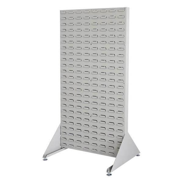 Double Sided Free Standing Louvered Panel Rack