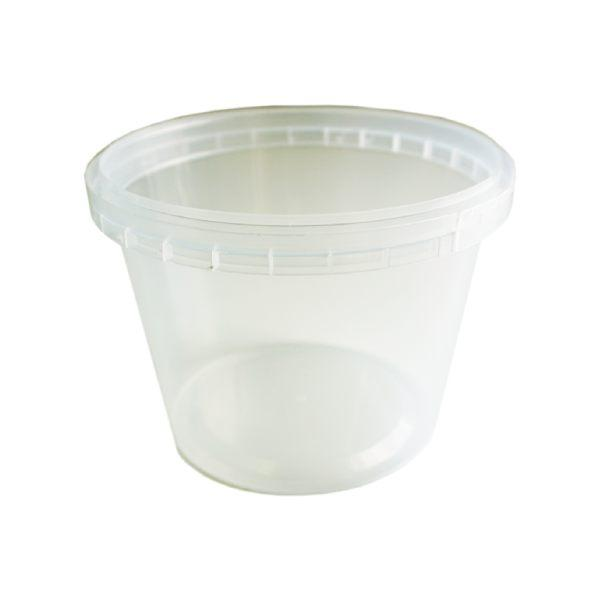Tub Round 380ml Tamper Evident Clear
