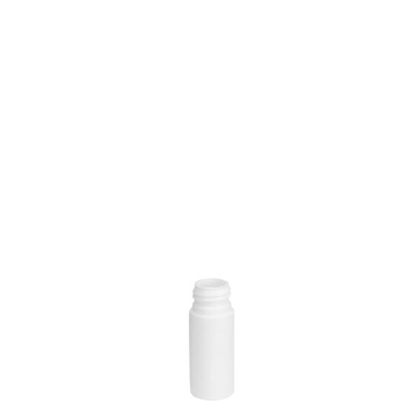 18251100100 30ml HDPE Cosmetic Bottle White