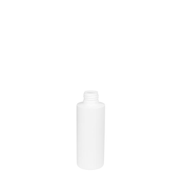 18251200100 125ml HDPE Cosmetic Bottle White