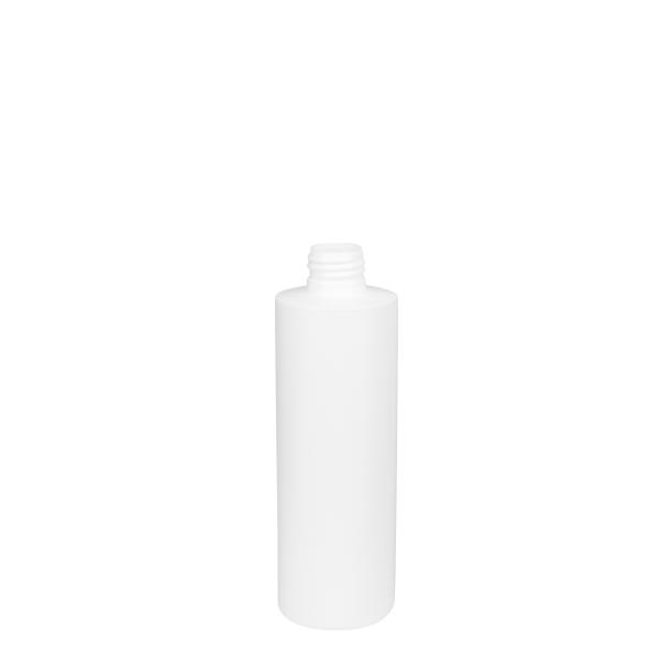 18251300100 250ml HDPE Cosmetic Bottle White